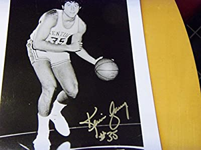 KEVIN GREVEY 1990's Show Signed Kentucky Wildcats 8x10 Photo -Guaranteed Authentic