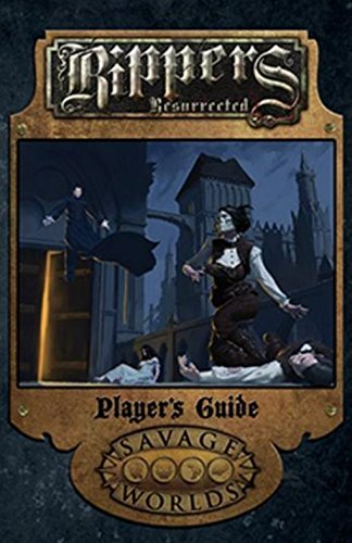 Rippers Resurrected Players Guide Limited Edition  Hardcover  S2p10320le