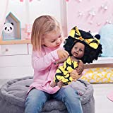 Nice2you Black Girl Doll African American Baby Doll Lifelike 12inch for Kids