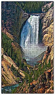 product image for Yellowstone Falls Puzzle