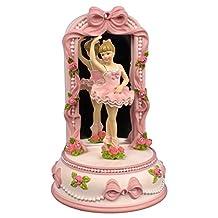 Ballerina and Bows Figurine