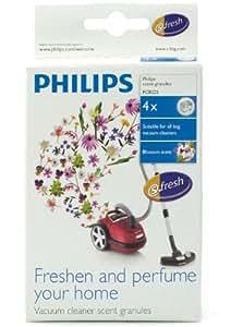 Philips FC8025/01 S-Fresh - Juego de 4 bolitas perfumadas para aspiradora