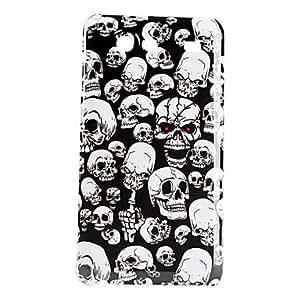 Skeleton Head Pattern Hard Case for Samsung Galaxy S Advance I9070
