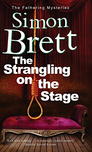 book cover of The Strangling on the Stage