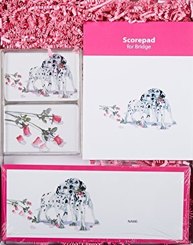 Rainbow Card Company Bridge Gift Set, Polka Dot and Moonbeam by Rainbow Card Company