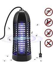 AETKFO Lámpara Antimosquitos UV Electrico Repelente Mosquitos Lampara Antimosquitos 6W LED Luce Insectos Trampa Lámpara Matamoscas Electrico para Mosquitos, Insectos, Moscas, Polillas Interior