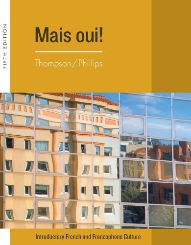 Bundle: Mais Oui!, 5th + iLrn(TM) Heinle Learning Center Printed Access Card 5th (fifth) Edition by Thompson, Chantal, Phillips, Elaine published by Cengage Learning - Centre Shopping Sa Elizabeth
