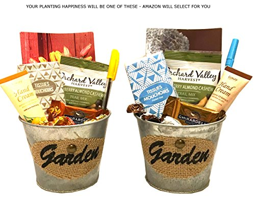 Thinking of You Gift Basket - Get Well Gift - Birthday Gift - Birthday Care Package - DESIGNED FOR HER - Lots of Selections (Planting Happiness)