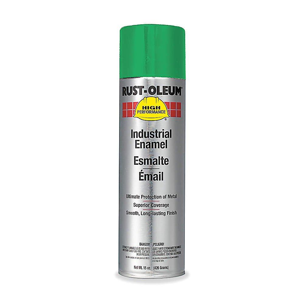 Spray Paint, Safety Green, 15 oz.