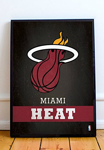 Miami Heat Limited Poster Artwork - Professional Wall Art Merchandise (More (16x20)