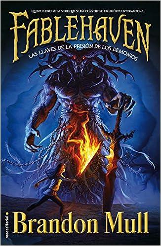 Las llaves de la prisión de los demonios: Libro V Junior - Juvenil roca: Amazon.es: Brandon Mull, Inés Belaustegui: Libros