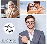 Silicone Eyeglass Nose Pads Adhesive Silicone