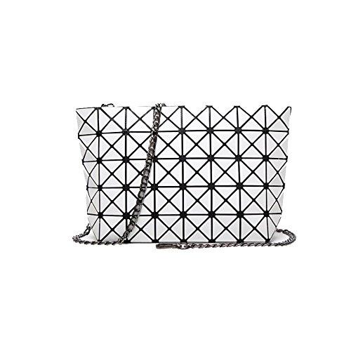 Casual Semplice Di Catena Diagonale Moda Shopping Bianco Bag Ladies Selvatici Yxpnu Spalla wqSzOExI