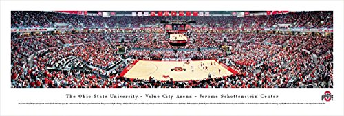 Ohio State Basketball - Blakeway Panoramas Unframed College Sports Posters (Ohio State Framed Basketball)