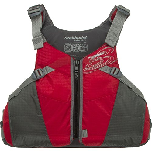 Personalized Coast Guard - Stohlquist Spectrum Lifejacket-Red-Universal
