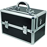 City Lights Classic Lockable Tool Case, Black