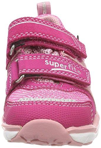 Superfit Mädchen Sport5 Sneaker Pink (Pink Kombi)