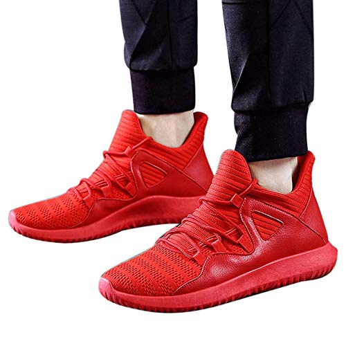 AgrinTol Mens Outdoor Sport Walking Shoes Lightweight Mesh Wide Sneakers Trail Running Shoes