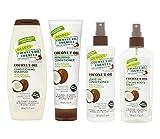 Palmer's Coconut Oil Formula Shampoo, Conditioner, Leave-in Conditioner, Spray (Whole Set)