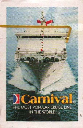Carnival Cruise Playing Cards