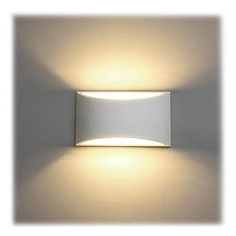 Appliques Murales Interieur Blanc Lampe Murale Led 7w Blanc Chaud
