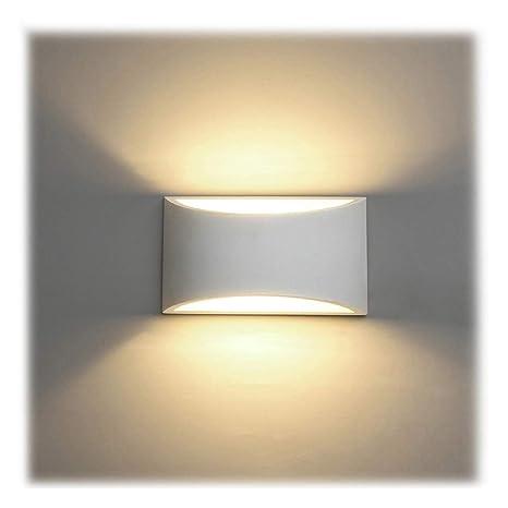 Applique da Parete Interno, 7W Intonaco LED Lampade da Parete ...