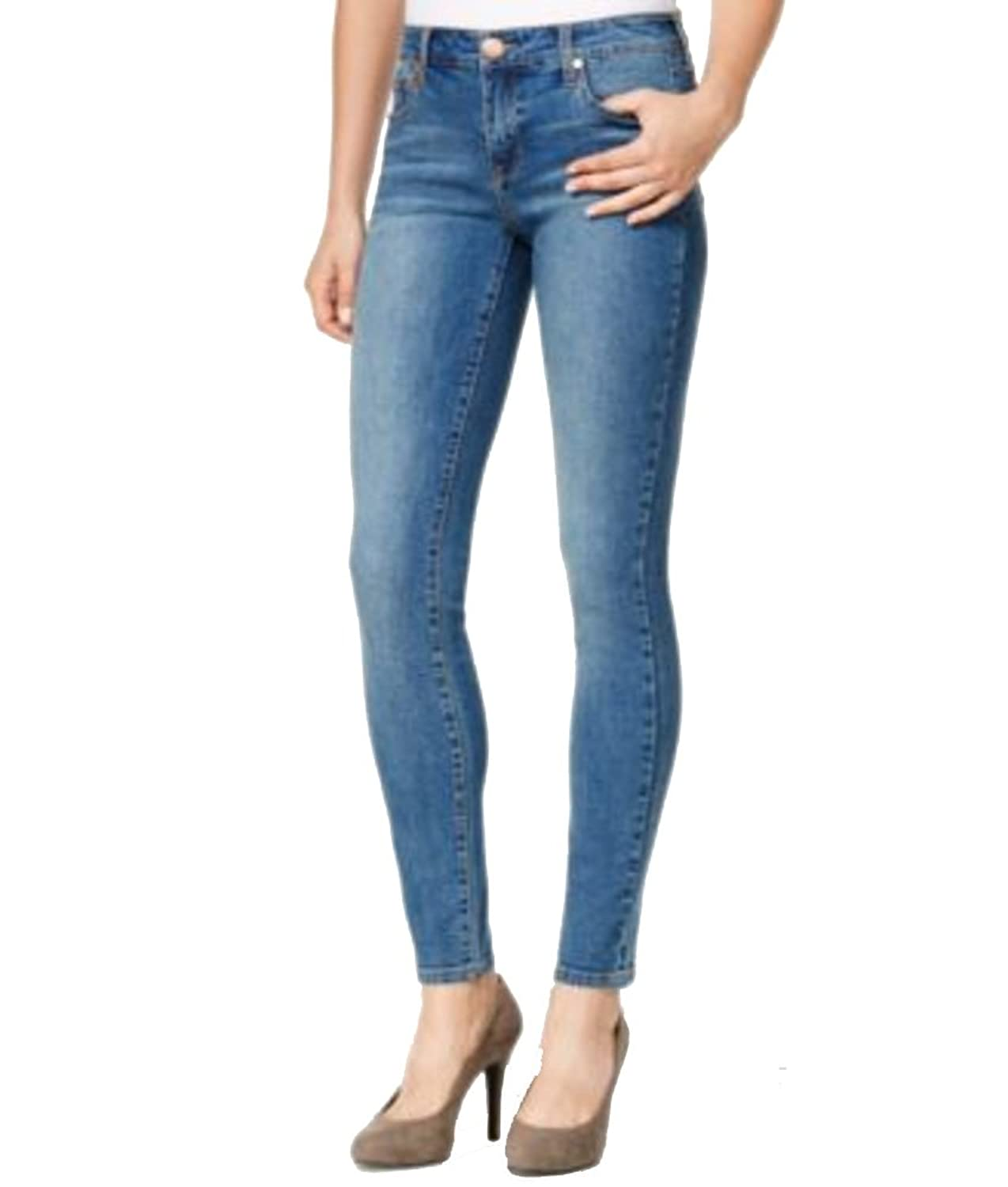 Celebrity Pink Body Love Juniors' The Lifter Light Wash Skinny Jeans