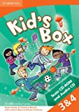 Kid's Box American English Levels 3-4 Tests CD-ROM and Audio CD, Karen Saxby and Christine Barton, 1107685206