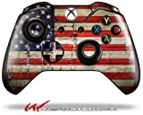 Cheap Painted Faded and Cracked USA American Flag – Decal Style Skin fits Microsoft XBOX One Wireless Controller (CONTROLLER NOT INCLUDED)