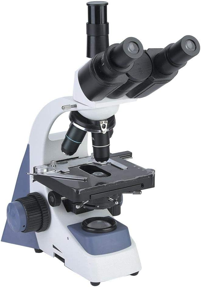 Binocular Microscope 20x Binocular Microscope Students Educational Lab Biomicroscope for Laboratories and Clinical Examinations