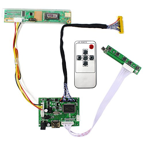 - HDMI Input LCD Controller Board For CLAA154WP05 LP171WP4 15.4