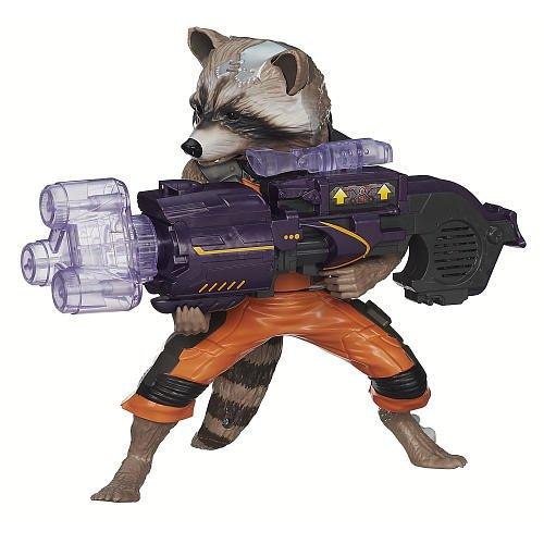 Marvel Guardians of the Galaxy Big Blastin Rocket Raccoon Figure