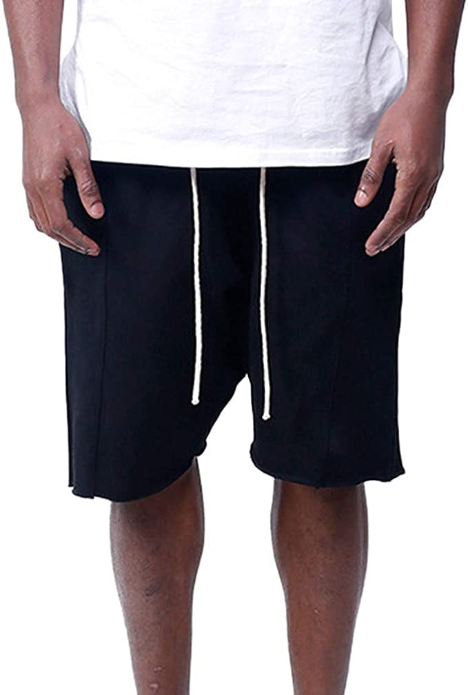 Leegor Men/'s Relaxed Fit Solid Cargo Shorts Outdoor Camping Pants Casual Button Sport Climbing Breathable Trousers