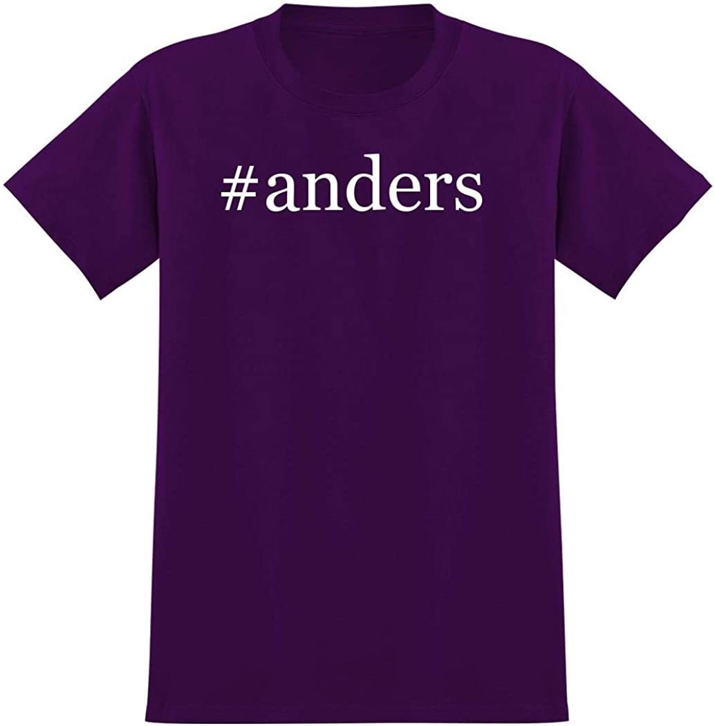 #anders - Hashtag Men's Graphic T-Shirt, Purple, Medium 51lEiDbGLJL