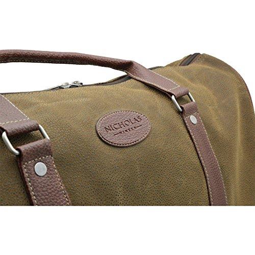 Nicholas Winter Men's Overnight / Weekend Holdall, Duffle Bag by Nicholas Winter (Image #7)
