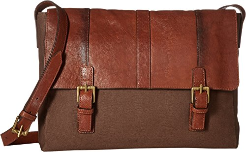 (Scully Unisex Santa Fe Messenger Bag Tan One Size)