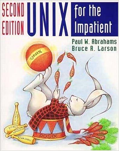 unix for the impatient download