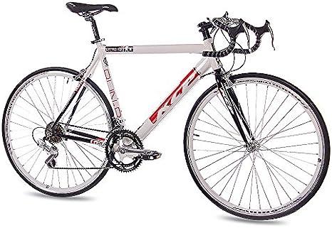 28 KCP Run 1.0 Bicicleta de carreras aluminio 14 marchas Shimano Blanco y Negro – 71,1 cm (28 pulgadas), tamaño Rahmenhöhe: 59 cm, tamaño de rueda 71.10 centimeters: Amazon.es: Deportes y aire libre