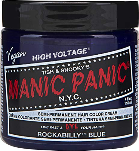 Manic Panic Rockabilly Blue Hair Dye Color