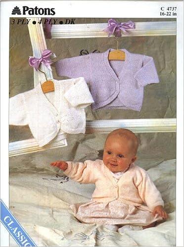 2d44b307245c Patons 4737 Knitting Pattern   Baby Bolero (16-22in) (Patons DK or ...
