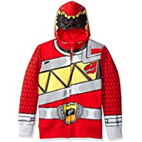 Power Rangers Boys' Character Hoodie (Red)