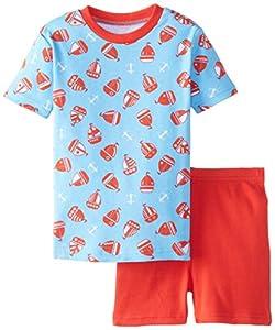 New Jammies Boys' Organic Cotton Pajama Short Set