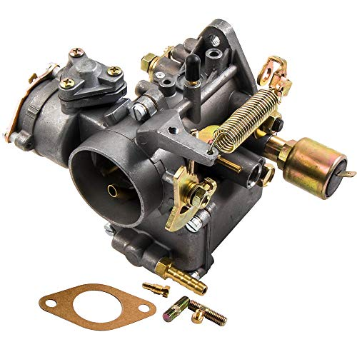 maXpeedingrods Carburetor for VW Beetle 34 PICT-3 1600cc Dual-Port Engine with OEM# 113129031K, 98-1289-B