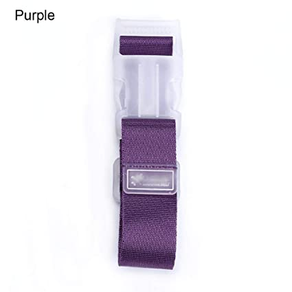Cheng-store 3pcs Luggage Strap Travel Suitcase Nylon Belts with Quick Release Buckle Nonslip
