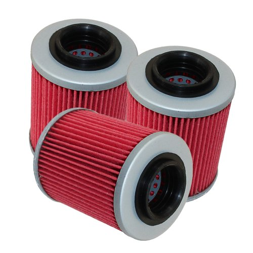 Caltric 3 PACK Oil Filter Fits CAN-AM RENEGADE 800R EFI X 800 1000 X XC 2009 2011-2014 by Caltric (Image #1)