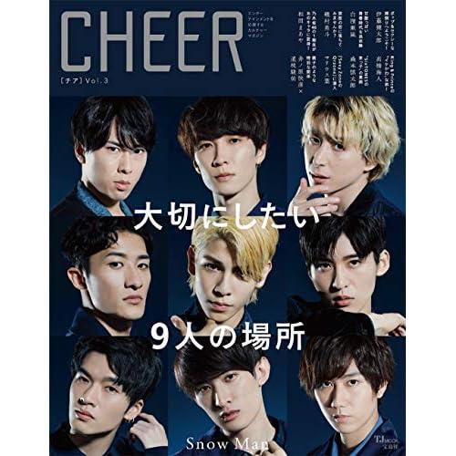 CHEER Vol.3 表紙画像
