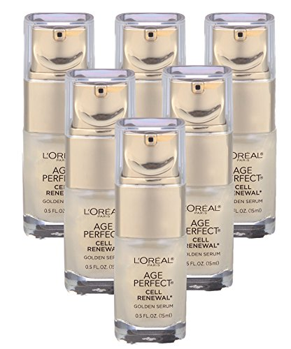 L'Oreal Paris Age Perfect Cell Renewal Golden Serum, .5 Fl Ounce (Pack of (Age Perfect Eye Cream)