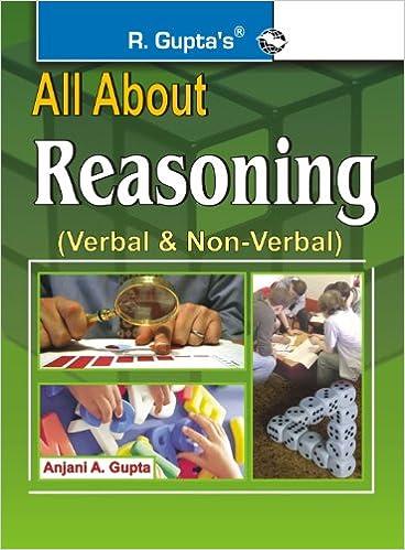 All About Reasoning (Verbal & N-Verbal) price comparison at Flipkart, Amazon, Crossword, Uread, Bookadda, Landmark, Homeshop18
