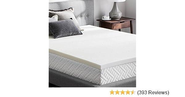 Memory Foam Matras : Amazon weekender inch memory foam mattress topper twin