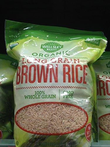 Organic Wellsley Farms lg brown rice (pack of 6) by Wellsley Farms